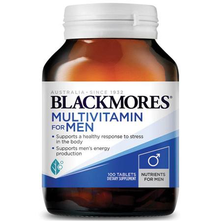 BLACKMORES Mens Multivitamin 100tabs