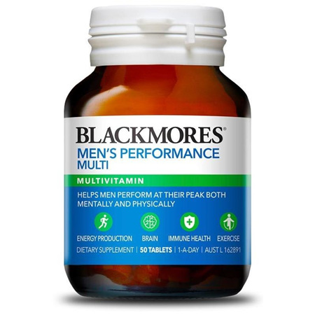 BLACKMORES Mens Multivitamin 50tabs