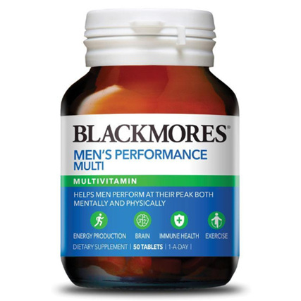 BLACKMORES Mens Performance Multi 50tabs