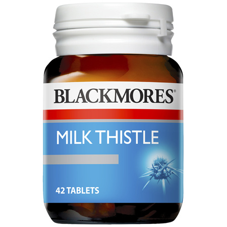 BLACKMORES Milk Thistle 42tabs