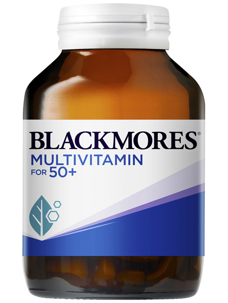 Blackmores Multivitamin for 50+ 90 Capsules