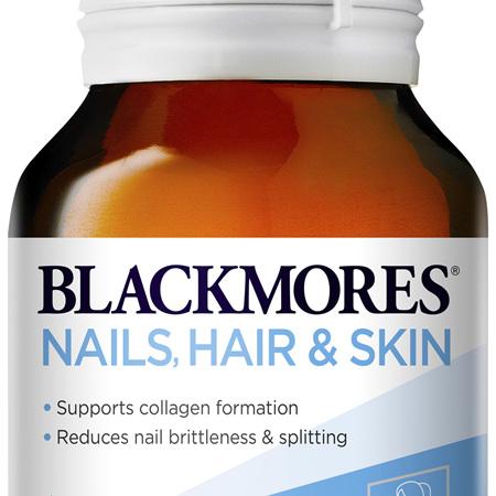 Blackmores Nails Hair + Skin 120 Tablets