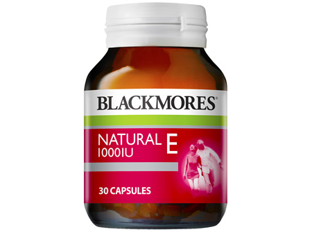 Blackmores Natural E 1000IU (30)