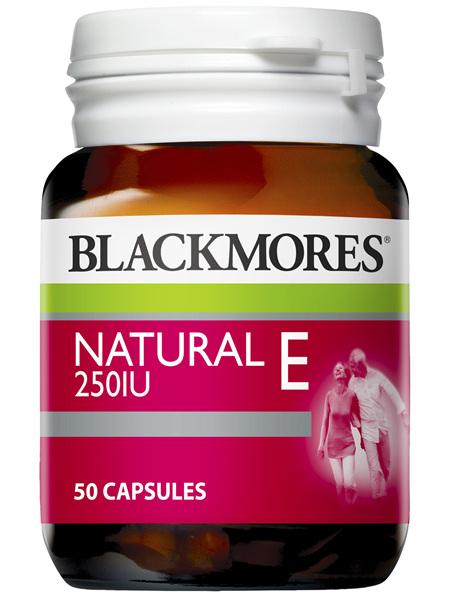 Blackmores Natural E 250IU (50)