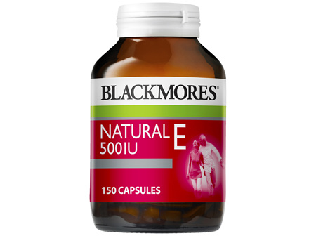 Blackmores Natural E 500IU (150)