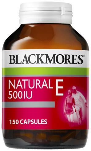 Blackmores Natural E 500IU (150)