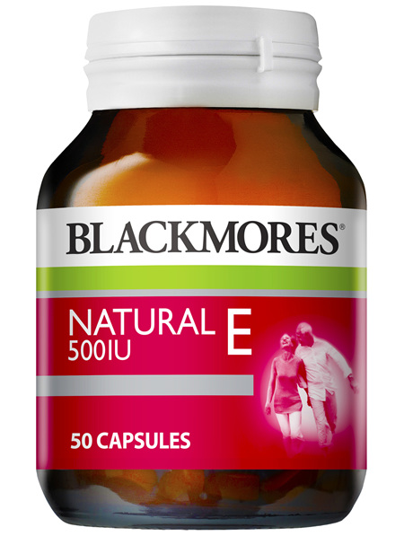 Blackmores Natural E 500IU (50)