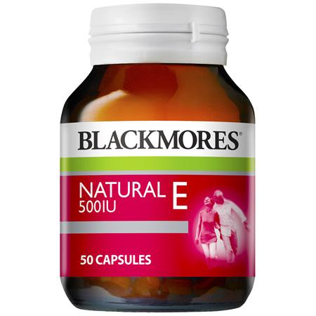 Blackmores Natural E 500IU (50)