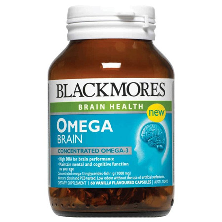 Blackmores Omega Brain Caps 60