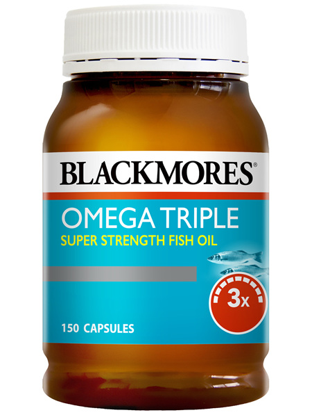 Blackmores Omega Triple Super Strength Fish Oil (150)