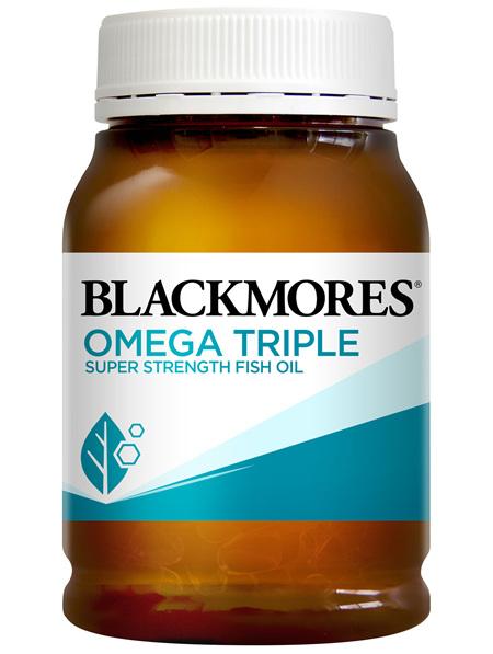 Blackmores Omega Triple Super Strength Fish Oil 150 Capsules