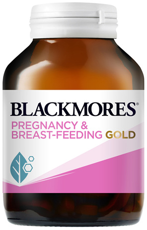 Blackmores Pregnancy and Breast-Feeding Gold 120 Capsules