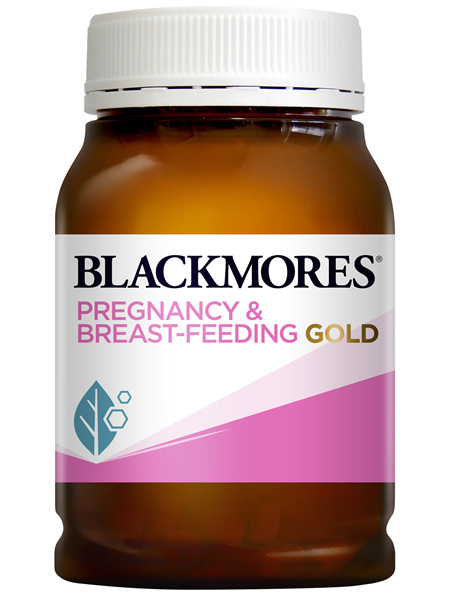 Blackmores Pregnancy and Breast-Feeding Gold 180 Capsules