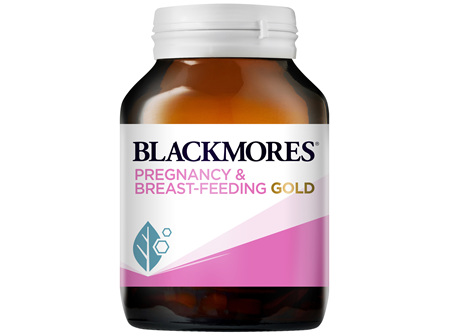 Blackmores Pregnancy and Breast-Feeding Gold 60 Capsules