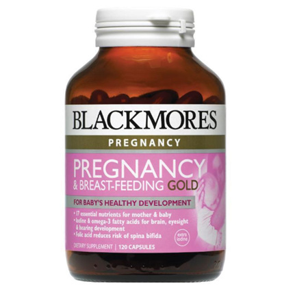 BLACKMORES Pregnancy & Breast-Feeding Gold 120caps