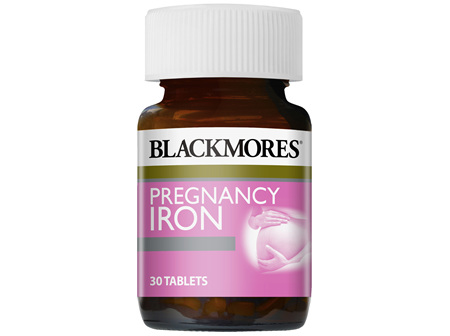 Blackmores Pregnancy Iron 30 Tablets