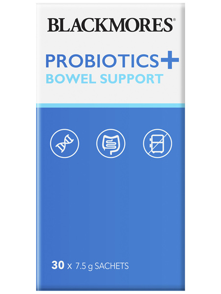 Blackmores Probiotics + Bowel Support 30 x 7.5g Pack