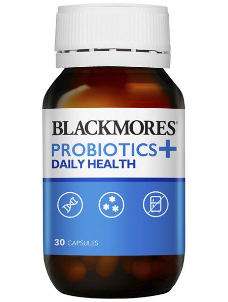 Blackmores Probiotics+ Daily Health 30 Capsules