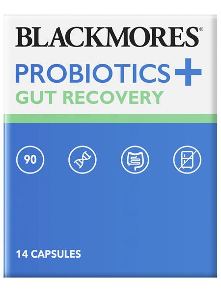 Blackmores Probiotics+ Gut Recovery 14 Capsules