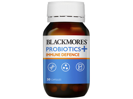 Blackmores Probiotics + Immune Defence (30)