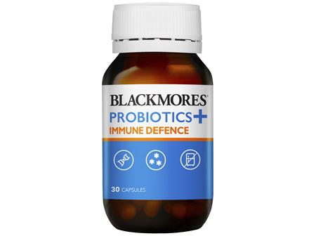 Blackmores Probiotics + Immune Defence 30 Capsules