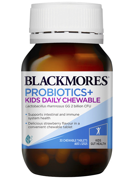 Blackmores Probiotics+ Kids Daily Chewable 30 Tablets