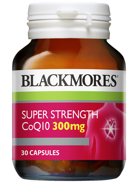 BLACKMORES®  SUPER STRENGTH CoQ10 300mg 30 Capsules