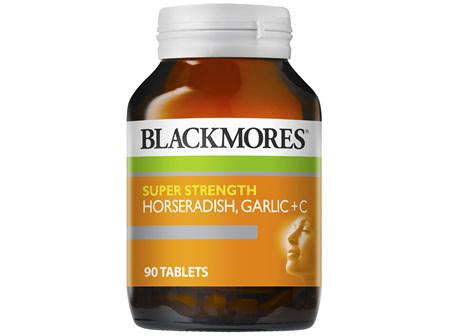 Blackmores Super Strength Horseradish Garlic + C (90)