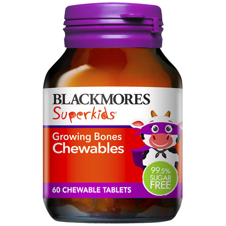 Blackmores Superkids Growing Bones Chew (60)