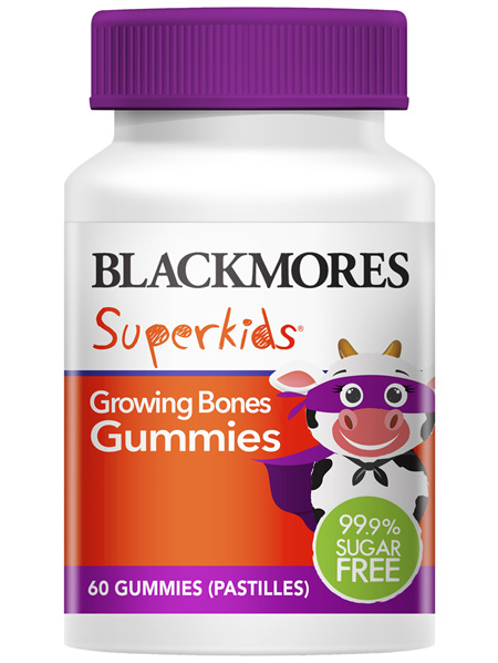 Blackmores Superkids Growing Bones Gummies (60)