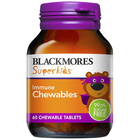 Blackmores Superkids Immune Chewables 60 Tablets