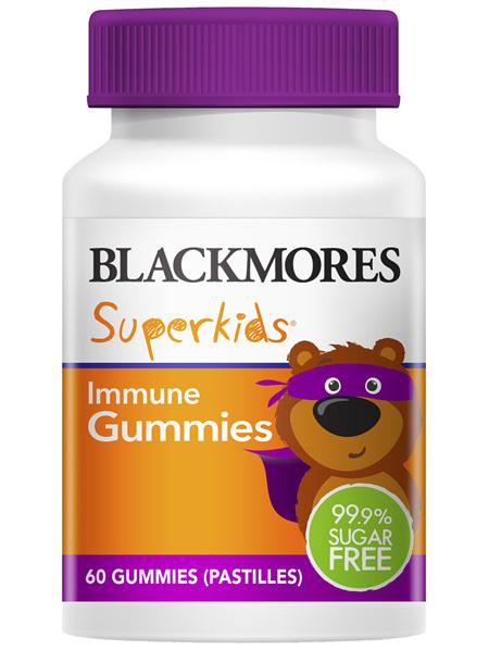Blackmores Superkids Immune Gummies 60 Pack
