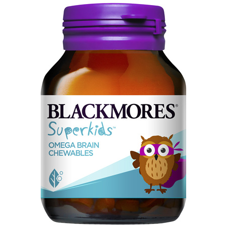 Blackmores Superkids Omega Brain Chew (50)