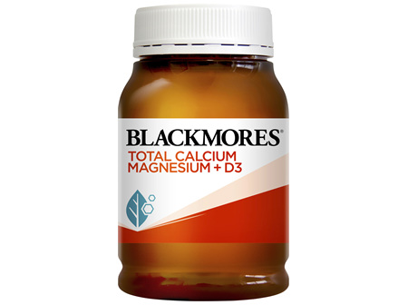 Blackmores Total Calcium Magnesium + D3 200 Tablets