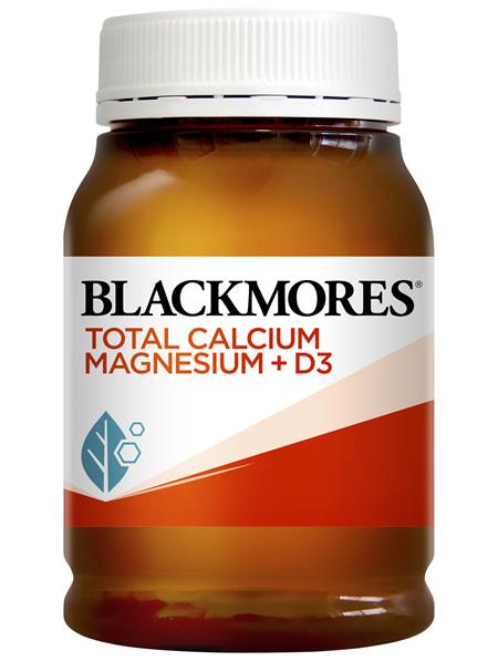 Blackmores Total Calcium Magnesium + D3 200 Tablets