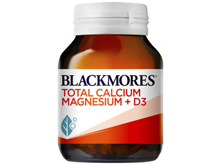 Blackmores Total Calcium Magnesium + D3 60 Tablets