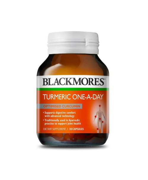 BLACKMORES Turmeric One-A-Day 30tabs