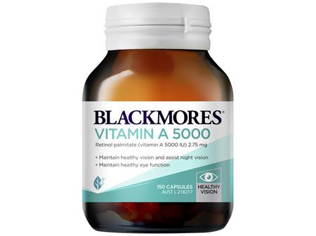 Blackmores Vitamin A 5000 150 Capsules
