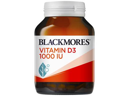 Blackmores Vitamin D3 1000 IU 200 Capsules