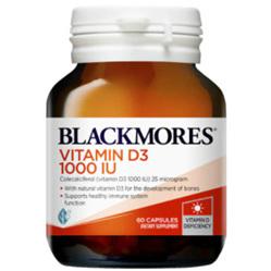 BLACKMORES Vitamin D3 1000IU 60caps