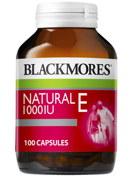 Blackmores Vitamin E 1000 IU 100 Capsules