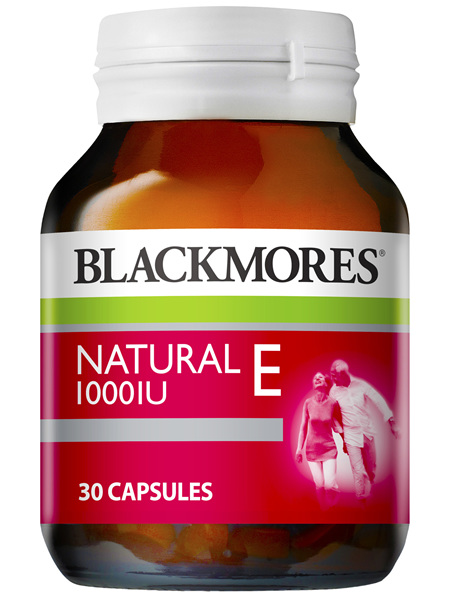 Blackmores Vitamin E 1000 IU 30 Capsules