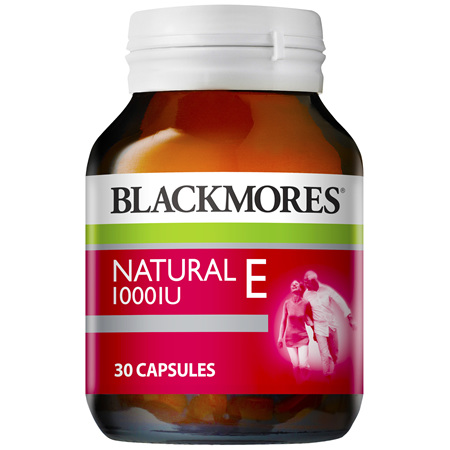 BLACKMORES Vitamin E 1000IU 30caps