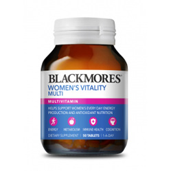 BLACKMORES Womens Multivitamin 50tabs
