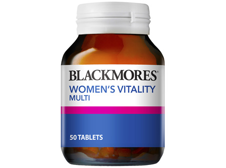 Blackmores Womens Vitality Multi (50)