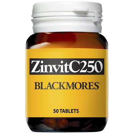 Blackmores ZinvitC250 (50)