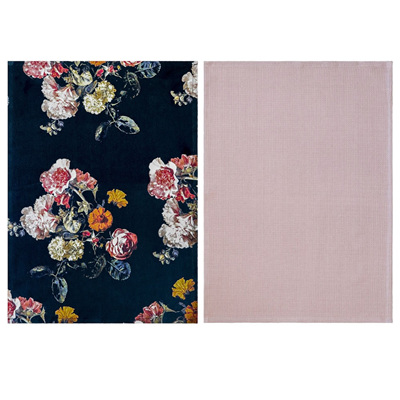 Bloomy Set of 2 Tea Towels