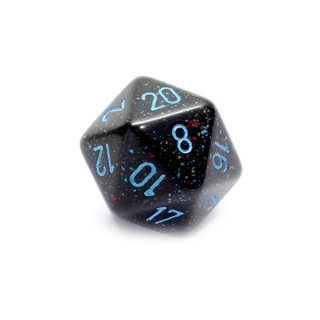 Blue Stars' Large Twenty Sided Dice