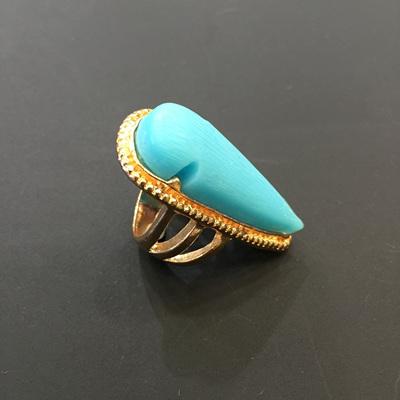 Blue Tear Ring WAS $14