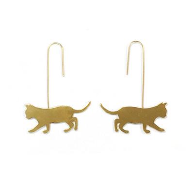 Bluebelle Earrings - Gold